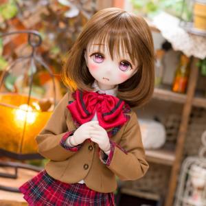 no.1382 DDH-01(セミホワイト肌)<ナギ作DDカスタムヘッド>