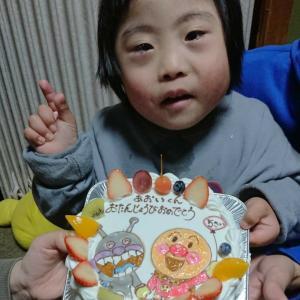 祝5才☆誕生日を迎えたあおいくん