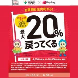 庄内町×PayPay 20%還元キャンペーン 庄内町で対象の店舗は?