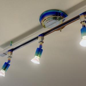 フルカスタム 照明器具の大変身!天井にメッキ&ペイントでオンリーワンのライトを
