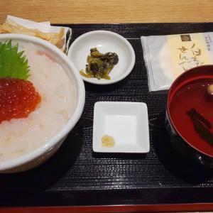 白エビ亭 ~富山で白エビの刺身丼を食べてきました~