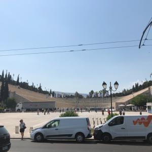 パナシナイコスタジアム ~近代オリンピックで最初に使われた競技場~