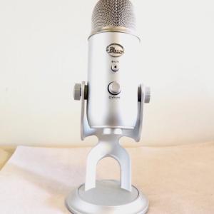 初心者にもおススメ!高性能マイク「Blue Microphones Yeti 」【イエティ】~機材紹介~