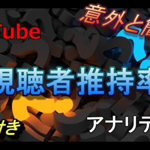 初心者向け!YouTube「アナリティクス」重要なのは『視聴者維持率』【2019年版】