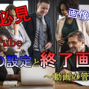 初心者必見!YouTubeカスタムツール「動画の管理」の使い方を解説(画像付き)【2019年版】