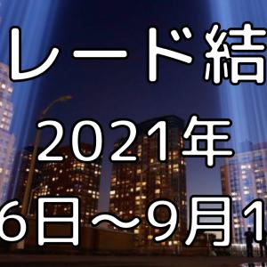 【CFD株価指数・HLFX・くるくるトラリピFX】トレード結果 2021年9月6日~10日