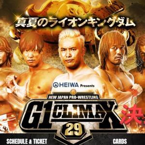 新日本プロレスまとめ、G1CLIMAX29 最終日決勝戦