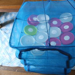 菌糸瓶の洗浄