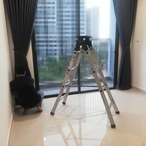 ベトナムのマンションにカーテンを設置したらホテルみたいになった