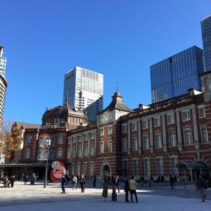 東京ステーションホテル、朝散歩。