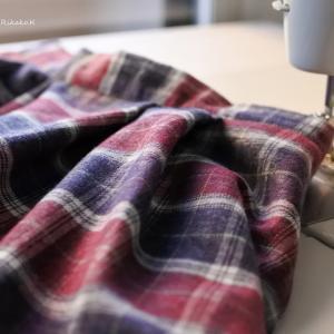 秋冬の服。