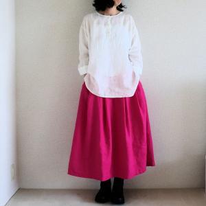 リネン服、着用画像を撮ったりした日。