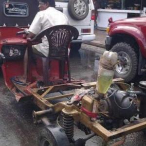 面白いインドの日常「乗り物編」