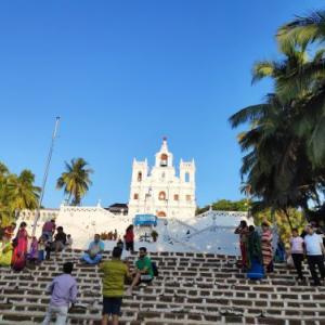 インド映画に出てくるパナジの教会