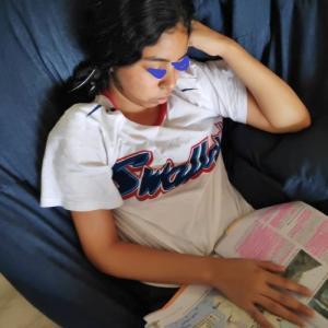 インド高校生の試験勉強