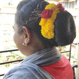 インド人女性のおしゃれ