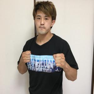 【プロボクサーご来室】川崎新田ボクシングジム、伊佐選手