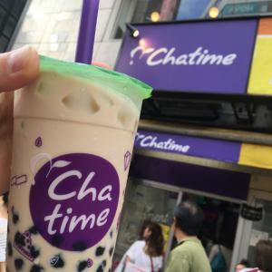 東京タピオカミルクティ(珍珠奶茶)Chatime(チャタイム)池袋