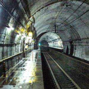 JR旧北陸本線 筒石駅~頸城トンネル内にある地底駅/訪問記&画像
