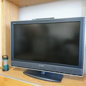 テレビが壊れて気がつきました