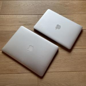 Mac Book AirとProを整理しました