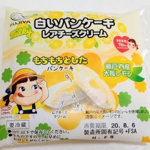 不二家 白いパンケーキ レアチーズクリーム
