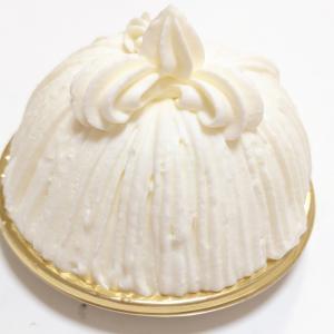 パレスホテルのシグネチャーケーキ マロンシャンティイ