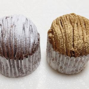 アンジェリーナ モンブランデミサイズと5月限定黒蜜きな粉モンブラン