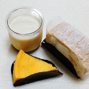 菓子工房ルスルス グリュイエールチーズケーキとマスカルポーネムースロールとプリン