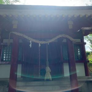 突然に…今日行ったお礼参りの神社 〜八幡宮〜