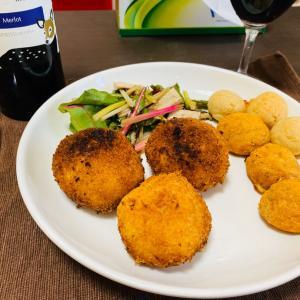 【ブラジル料理】コシーニャとモチモチポンデケージョ(*´ω`*)