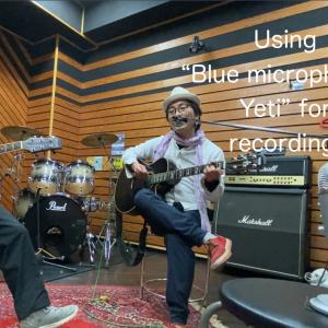 Blue microphones Yeti + iPhone11 でUnplugged録音