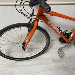 初めてのクロスバイクタイヤ交換。そして失敗。