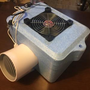 続・ホンダビート PP1 クーラー DIYで手作り。
