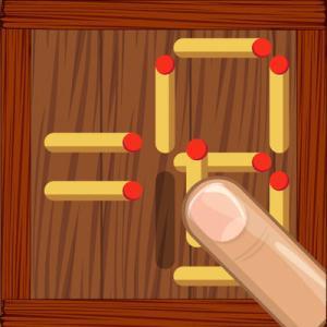 クイズ番組でもよく出題されるマッチのパズルゲーム『Math Pazzle King』