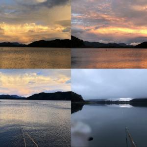 河口湖⭐️本栖湖の景色