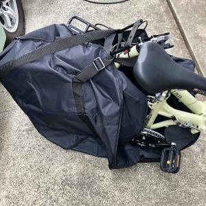 釣り場用に。⭐️折りたたみ自転車ゲット‼️