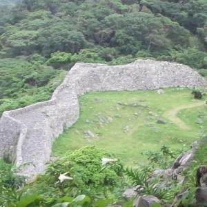【今帰仁城跡(なきじんじょうあと)】 首里城と共に世界遺産。沖縄本島北部を支配していた北山の拠城