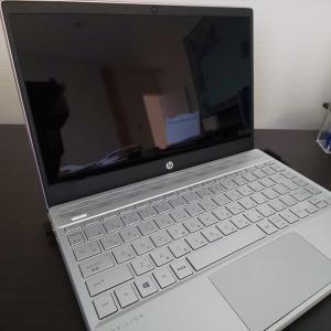 念願のノートパソコン!