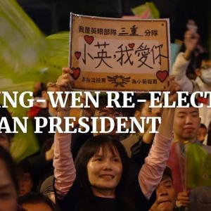 【海外の反応】台湾で蔡英文氏の再選に海外「プーさんがチャットから退出しました」