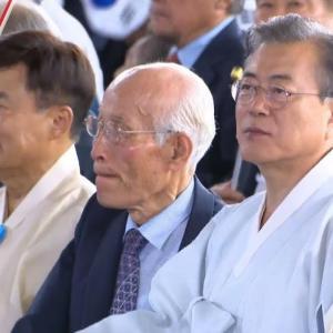 【海外の反応】文大統領、一変して日本に対する刺激的な発言を抑制 外国人「北朝鮮の工作員?」