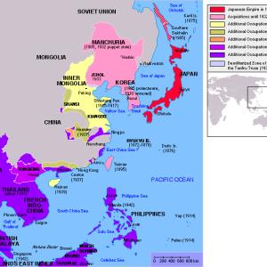 大日本帝国の最大領土図とかいうガチで心躍るやつ