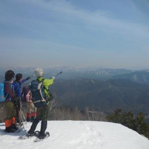 2,020年のスノーシュー登山の予定を追加しました