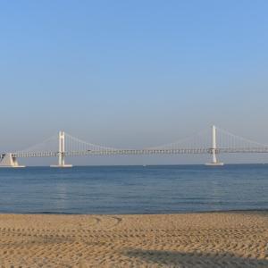 【観光】釜山の観光の名所「広安大橋」を歩いて渡ろうイベントに参加!