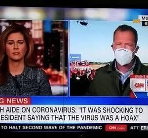 「コロナウイルスは、でっち上げだ!」 と、トランプ大統領