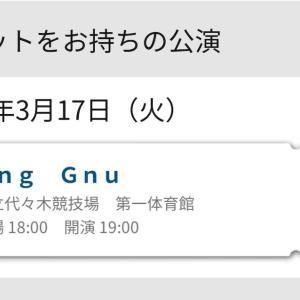 【速報】King GnuのLiveに参戦できることに!