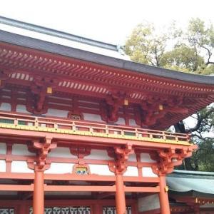 氷川神社に行きました