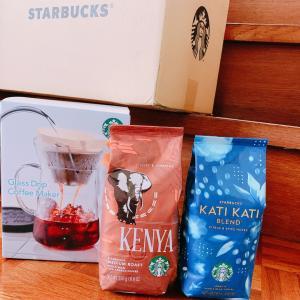 夏のおうちカフェタイムを彩る!スターバックスさんのアフリカ産アイスコーヒー。