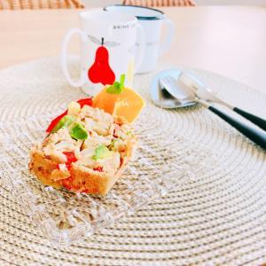 【PR】ずっしり&もっちりで栄養満点!甘くないおかずケーキ「玉ねぎとアボカドのケークサレ」