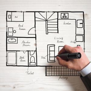 住友林業の注文住宅|設計①冷蔵庫の位置はどこがいい?
